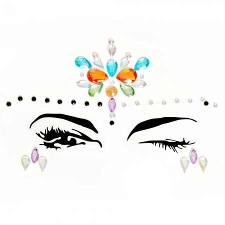 Elora Eye Jewels Sticker EYE006